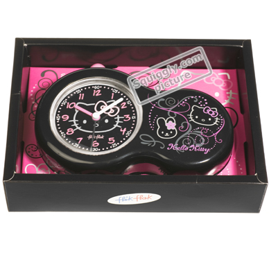 Flik Flak Alarm-Clock-Hello-Kitty FAC31 - 2009 Fall Winter Collection