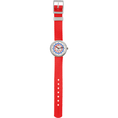 Flik Flak Red Colour - Watch - FBN067 | Squiggly Swatch Watches ...