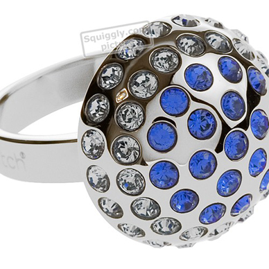Swatch Bijoux Crystal-Soul-Blue-Ring JRS028-5 - 2004 Fall Winter Collection