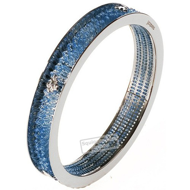Swatch Bijoux Curled-Sky-Blue-Bracelet JB000004-S - 2000 Spring Summer Collection