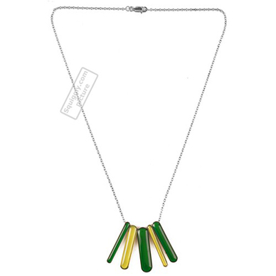Swatch Bijoux Defile-Green-Necklace JPG001-U - 2003 Spring Summer Collection