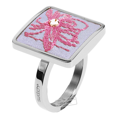 Swatch Bijoux Flowercage-Ring JRP014-5 - 2005 Fall Winter Collection