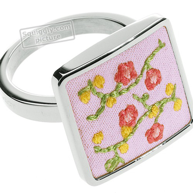 Swatch Bijoux Flowercage-Ring JRP017-6 - 2006 Spring Summer Collection