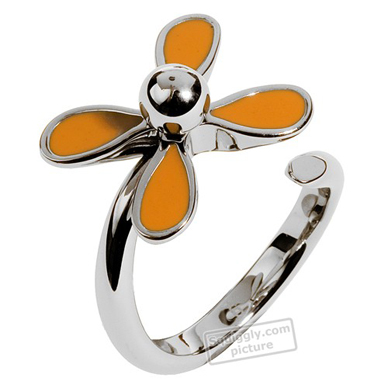 Swatch Bijoux Flowerlyric-Orange-Ring JRO004-9 - 2005 Spring Summer Collection