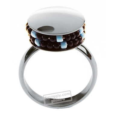 Swatch Bijoux Jonction-Blue-Ring JRL002-5 - 2004 Spring Summer Collection