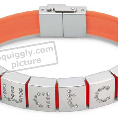 Swatch Bijoux Myswatch-Orange-Bracelet JBO0003-M - 2001 Spring Summer Collection