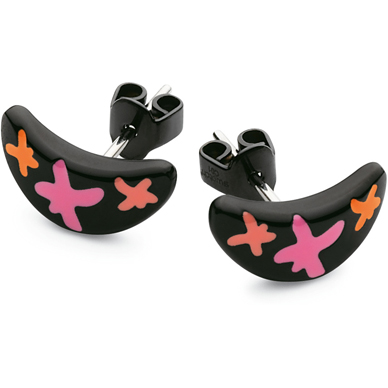 Swatch Bijoux Nabiak-Black-Earrings JEB004-U - 2007 Fall Winter Collection