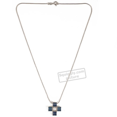 Swatch Bijoux Prismatic-Blue-And-Crystals-Pendent JPS0001 - 2001 Fall Winter Collection