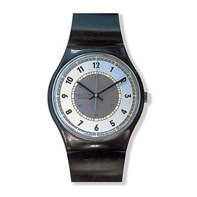 Swatch Black-Hawk-Maxi MGX702 - 1988 Fall Winter Collection
