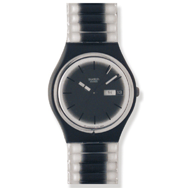 Swatch Black-Margin GB742 - 2000 Spring Summer Collection