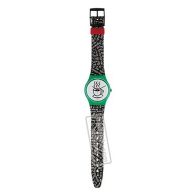 Swatch Cappuccino-Strap AGG121 - 1993 Spring Summer Collection