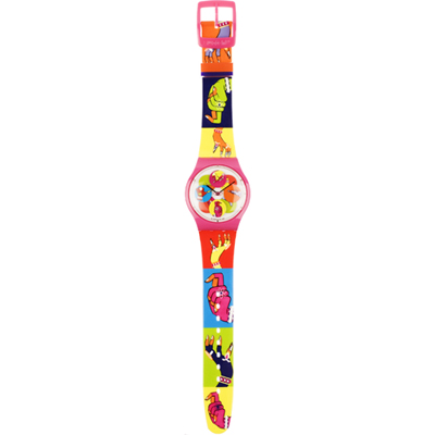 Swatch Dancing-Hands SUPP101 - 2009 Spring Summer Collection