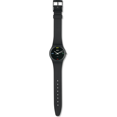 Swatch Don-t-Be-Too-Late GA100 - 1984 Spring Summer Collection