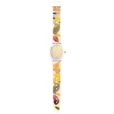 Swatch Fall-In-Leaves GW135 - 2002 Fall Winter Collection