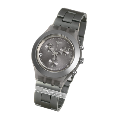 Swatch Full-Blooded-Smokey-Grey SVCM4007AG - 2011 Spring Summer Collection