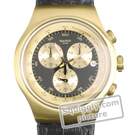 Swatch Golden-Hide-Black YOG403 - 2012 Spring Summer Collection