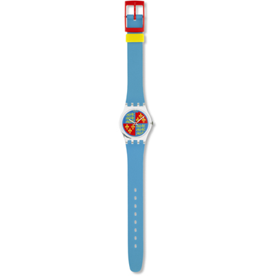 Swatch Lionheart LK102 - 1986 Fall Winter Collection