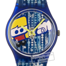 Swatch London-Club GS106 - 1997 Fall Winter Collection