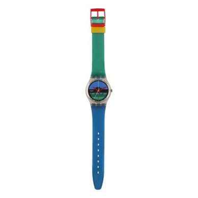 Swatch Nautilus-Strap AGK102 - 1986 Fall Winter Collection