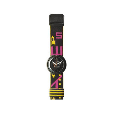 Swatch Neon-Black-Strap APWBB107 - 1989 Spring Summer Collection