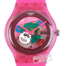 Swatch Pink-Lacquered SUOP100 - 2012 Spring Summer Collection