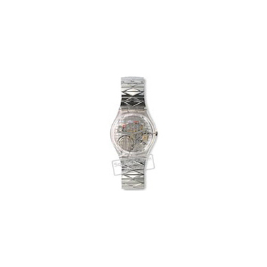 Swatch Silver-Net-Large-Strap AGK186 - 1995 Spring Summer Collection
