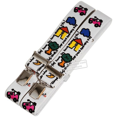 Swatch Space-People-Suspenders SUSPENDERS - 1993 Fall Winter Collection
