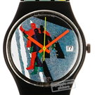 Swatch Taxi-Stop GB410 - 1989 Spring Summer Collection
