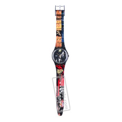 Swatch The-Man-With-The-Golden-Gun-Strap AGB210 - 2002 Spring Summer Collection