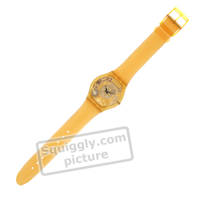 Swatch Yellow-Jelly-Skin SFJ100 - 2000 Fall Winter Collection
