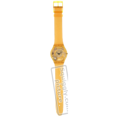 Swatch Yellow-Jelly-Skin-Strap ASFJ100 - 2000 Fall Winter Collection