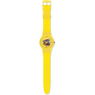 Swatch Yellow-Lacquered SUOJ100 - 2012 Spring Summer Collection