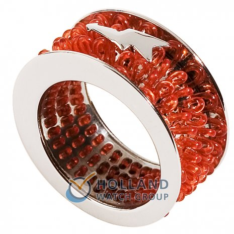 Swatch Bijoux Curled Red Ring Ring