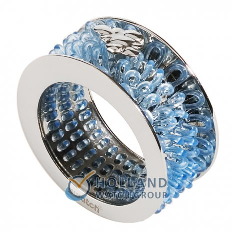 Swatch Bijoux Curled Sky Blue Ring Ring