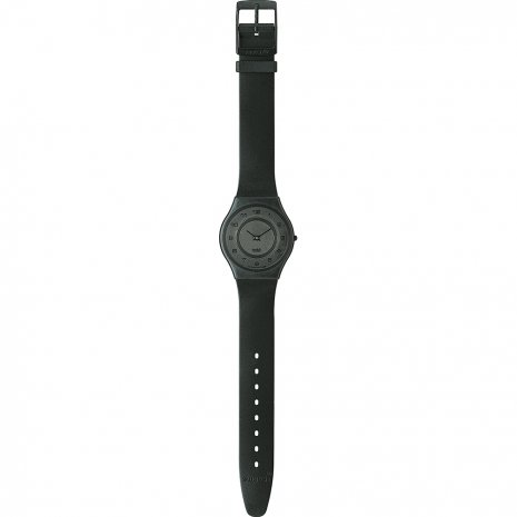 Swatch Black-Out-Too-(Black-Hands) SFB100 - 1997 Fall Winter Collection