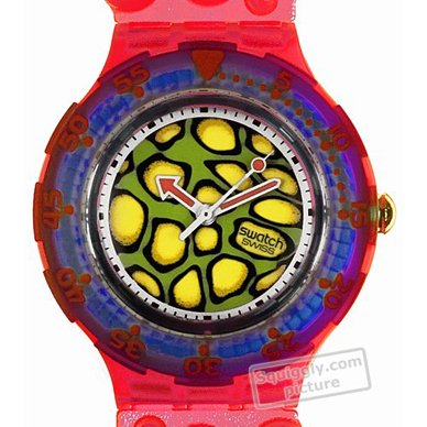 watch red Quartz Swiss