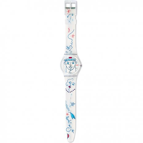 Swatch Flowers GK207 - 1995 Fall Winter Collection