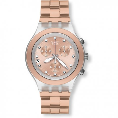 swatch fullblooded caramel watch