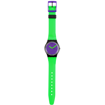 Swatch Green-'N-Violet GB267 - 2012 Spring Summer Collection
