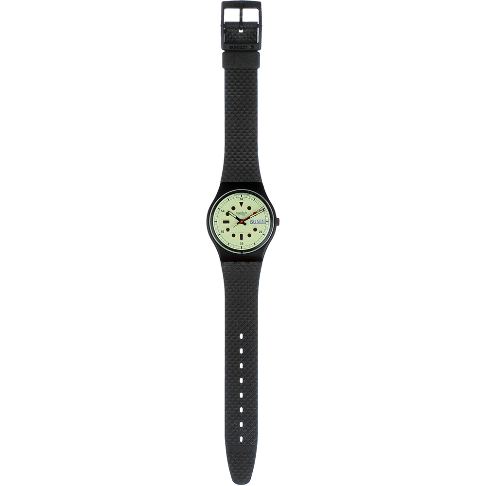 Swatch gb712re watch kailua diver - Swatch dive watch ...