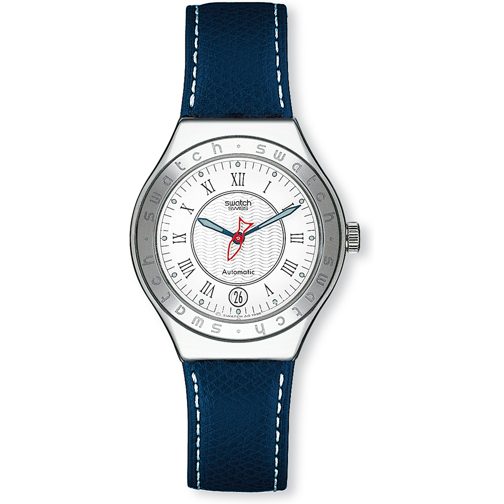 Swatch yas400 watch poisson rouge for Poisson rouge