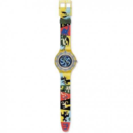 Swatch Poulpe SDJ102 - 1996 Spring Summer Collection