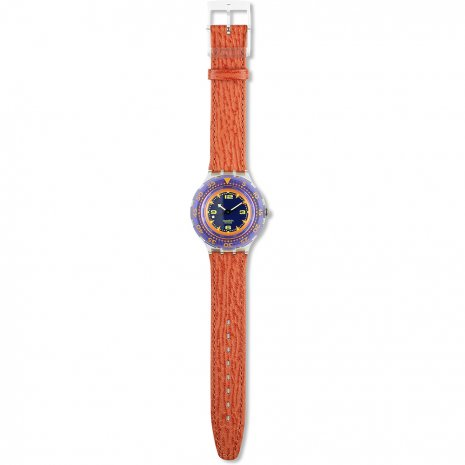 Swatch Red Island watch