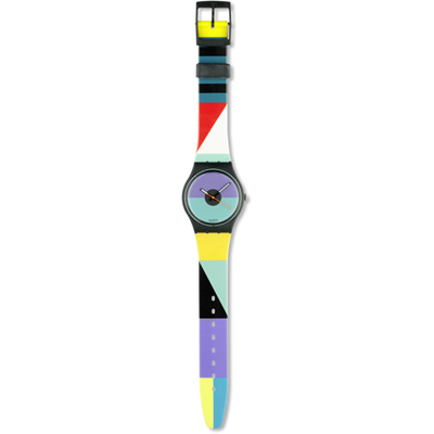 Swatch St.-Catherine-Point GB121 - 1988 Spring Summer Collection
