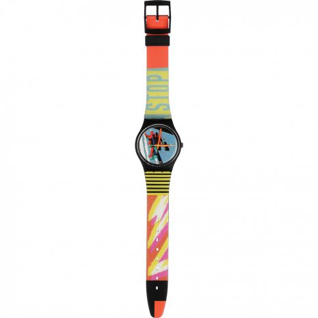 Swatch Taxi Stop watch