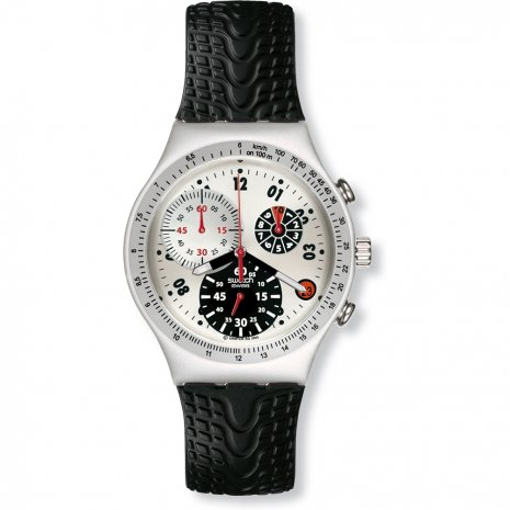 Swatch Tyre Track watch