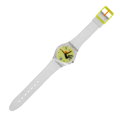 Swatch Weightless (As good as new) watch