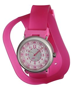 Flik Flak Shaped on Pink  -  FPN048