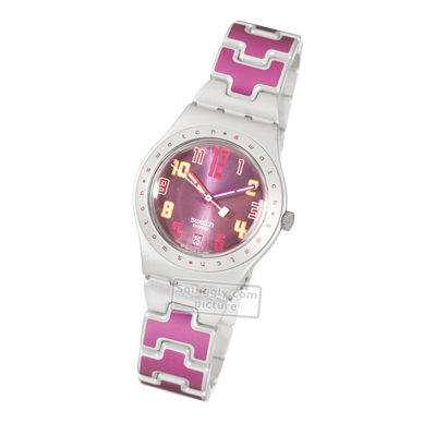 Swatch Don't Cross The Lines - Watch - YLS4015AG | Squiggly Swatch ...
