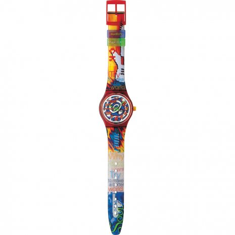 Swatch 11 PM watch